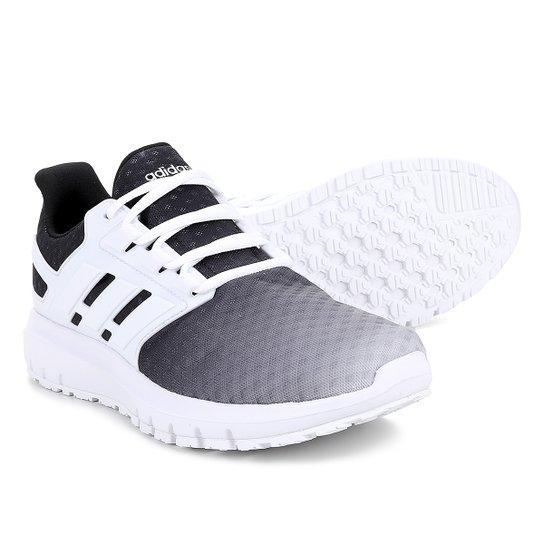 268c6d445b Tênis Adidas Energy Cloud 2 Masculino - Branco e Preto - Compre ...
