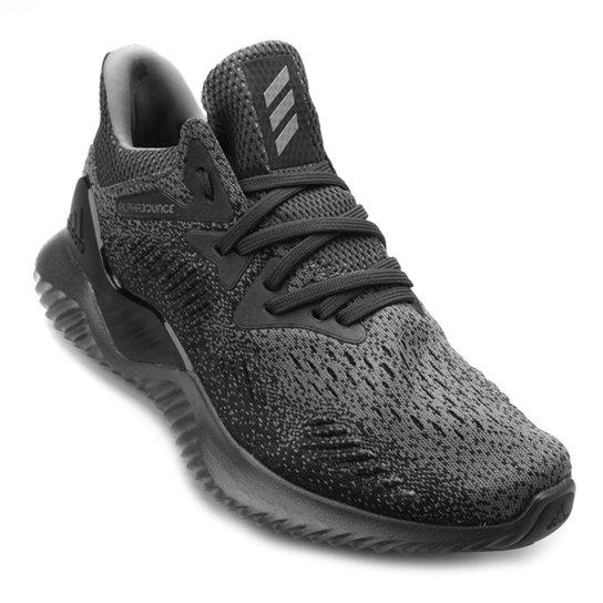 a4a1a30adc Tênis Adidas Alphabounce Beyond Masculino - Cinza e Preto - Compre ...