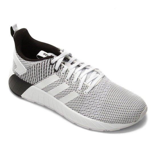 3e6bb69e8f7 Tênis Adidas Questar Byd M Masculino - Branco e Preto - Compre Agora ...