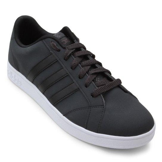 Tênis Adidas Vs Advantage M Masculino - Chumbo e Preto - Compre ... 6332e2171df53