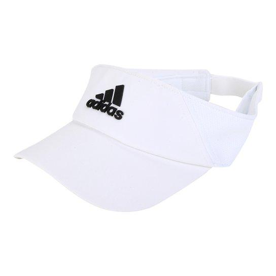 Viseira Adidas Climalite - Branco e Preto - Compre Agora  a44c4d338ba