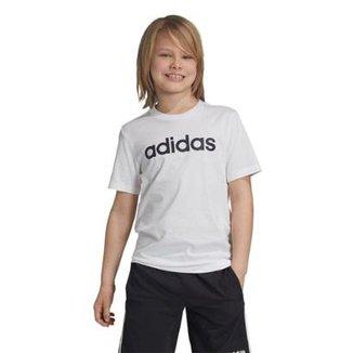 a05d9d8f58a Camiseta Infantil Adidas YB LIN TEE Masculina