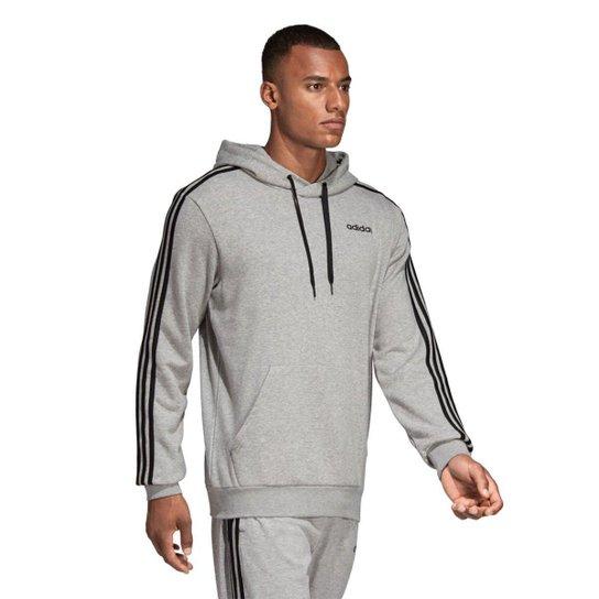 e039c3d0702 Moletom Adidas Essentials Masculino - Cinza e Preto - Compre Agora ...