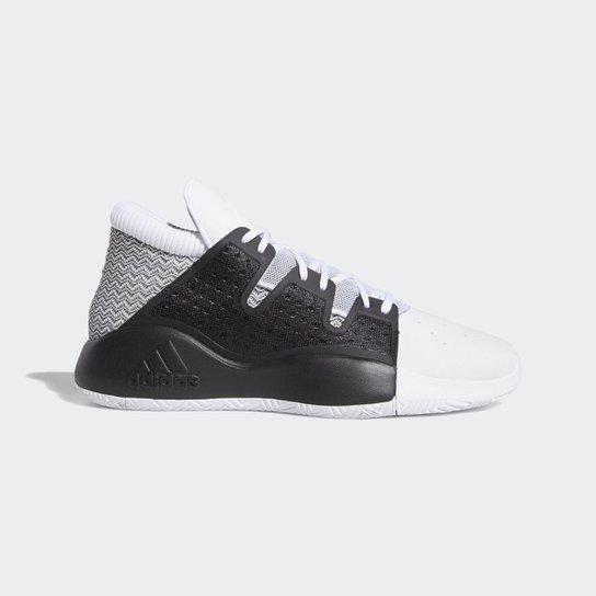 5fbf79c89d Tênis Adidas Pro Vision Masculino - Branco e Preto | Netshoes