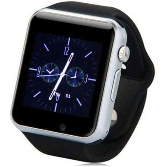 2c364aa5ac7 Kit Relógio Smartwatch Armor Premium Touch e Fone de Ouvido Knup Bluetooth  - Branco+Preto