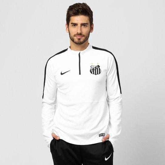 2b044b120ea9e Blusão Santos Nike Treino 2015 Masculino - Compre Agora
