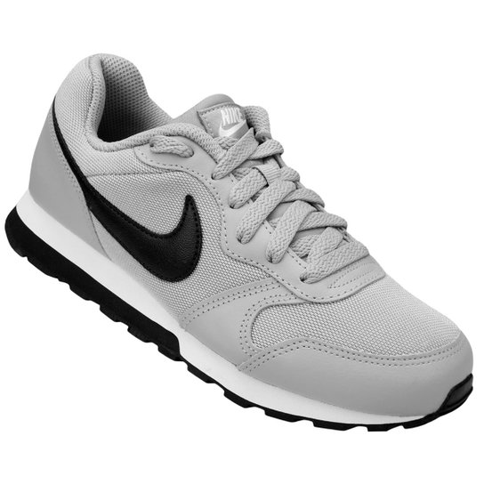 ae9bf47df3 Tênis Infantil Nike Md Runner 2 - Cinza e Preto - Compre Agora ...