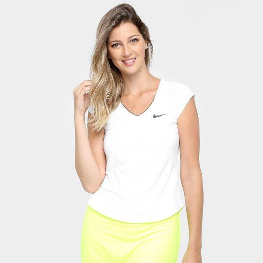 Camiseta Nike Pure Feminina - Branco - Compre Agora  52a6b62f40e7d