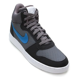 76ee78642ff Tênis Couro Cano Alto Nike Recreation Mid Masculino