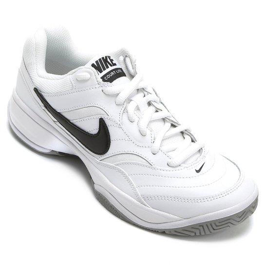 7c38294c8c3 Tênis Nike Court Lite Masculino - Branco e Preto - Compre Agora ...