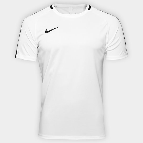 Camisa Nike Academy Masculina - Branco+Preto 4151d6efa7d18