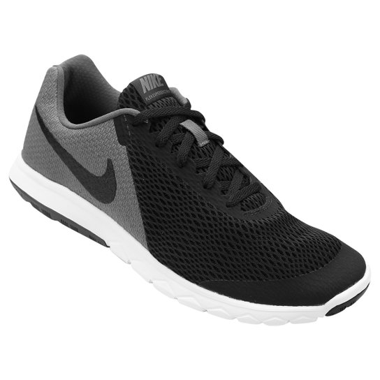 236235846fb Tênis Nike Flex Experience Rn 6 Masculino - Preto e Cinza - Compre ...