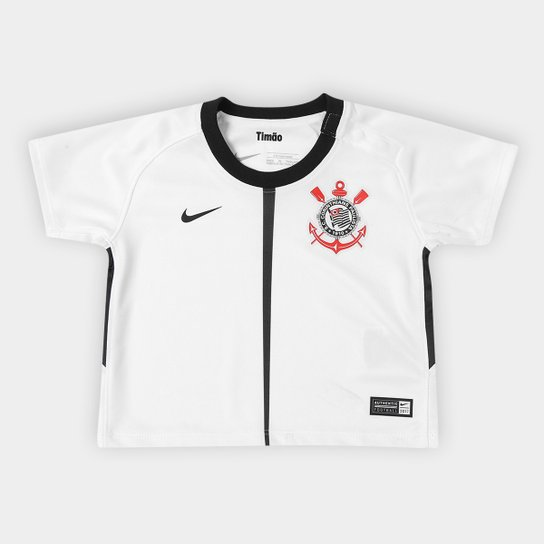 Camisa Corinthians Infantil I 17 18 s nº Baby Torcedor Nike - Compre ... dff9c4fb7d8fd