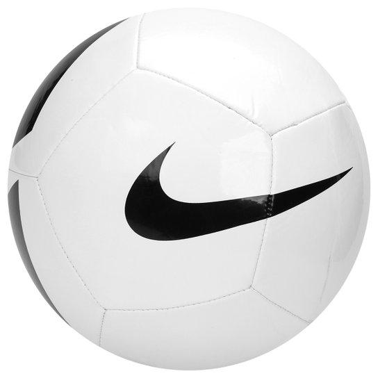 80e5c7f27a Bola Futebol Campo Nike Pich Team - Branco e Preto - Compre Agora ...