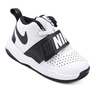 cf03730cfa1 Tênis Infantil Couro Nike Team Hustle D Masculino