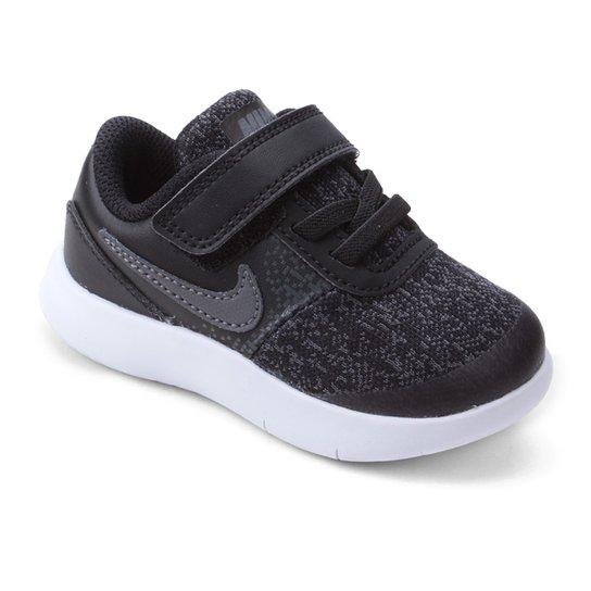 5c8f459e025 Tênis Infantil Nike Flex Contact Masculino - Cinza e Preto - Compre ...
