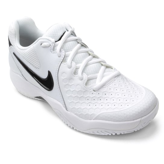 d695207a1f4 Tênis Nike Air Zoom Couro Resistance Masculino - Branco+Preto. Loading.