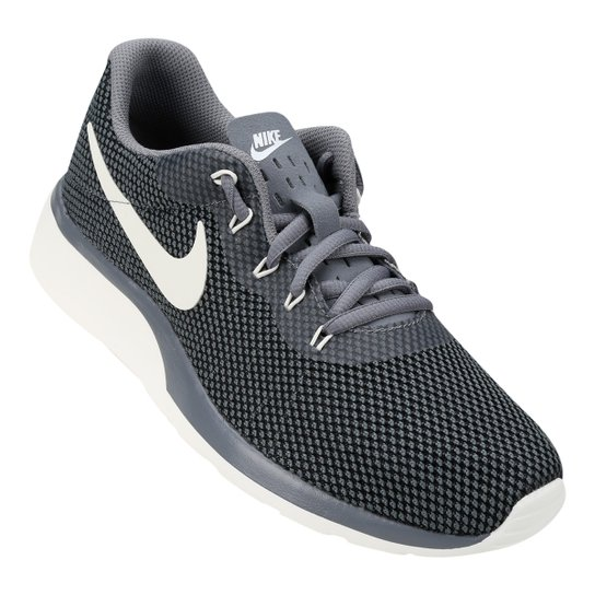 Tênis Nike Tanjun Racer Feminino - Cinza e Preto - Compre Agora ... fcb284de0311f