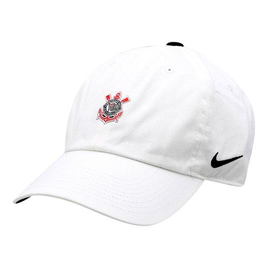 Boné Nike Corinthians Aba Curva - Compre Agora  2a5fa6d34e6
