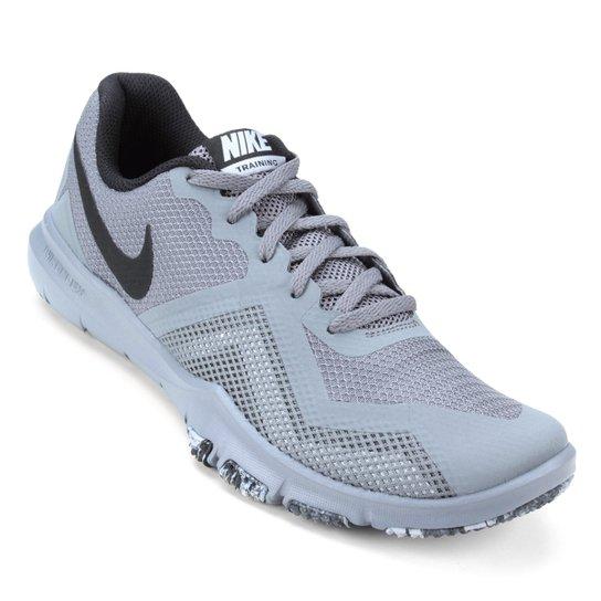 0accc332d71fc Tênis Nike Flex Control II Masculino - Cinza+Preto