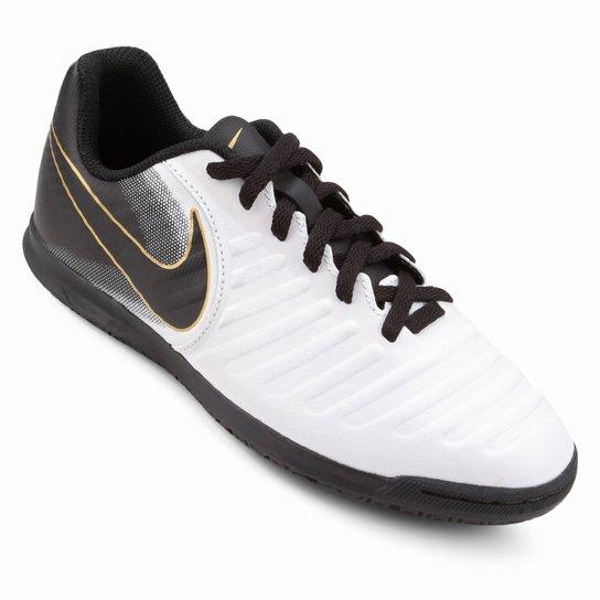 Loading zoom 502e74fb62ea03  Chuteira Futsal Infantil Nike Tiempo Legend 7  Club IC - Branco+Preto. Loading. cbad822c0d071