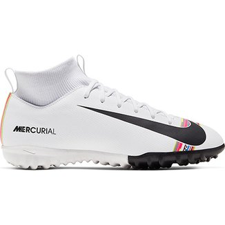 8eefabc2724bf Chuteira Society Infantil Nike Mercurial Superfly 6 Academy GS CR7 TF