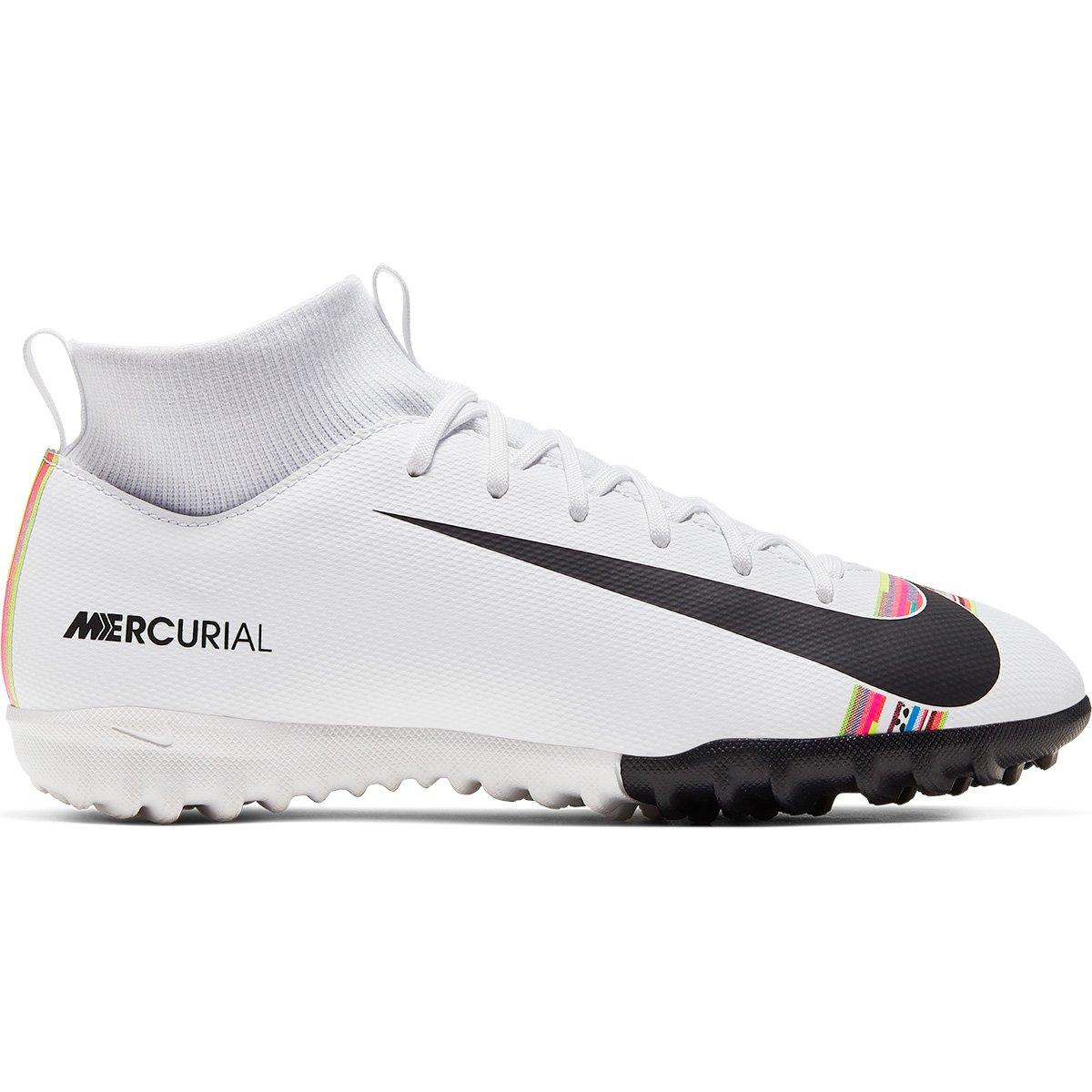 bbd86740a6e Chuteira Society Infantil Nike Mercurial Superfly 6 Academy GS CR7 TF