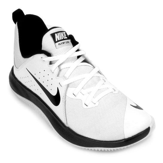 9fa106f48d2 Tênis Nike Fly.By Low Masculino - Branco e Preto - Compre Agora ...
