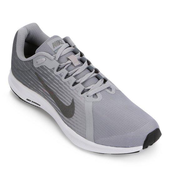 Tênis Nike Downshifter 8 Masculino - Cinza e Preto - Compre Agora ... e3fed018f43fd