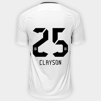 Camisa Corinthians I 17 18 nº 25 Clayson - Torcedor Nike Masculina 3ed981129aadf