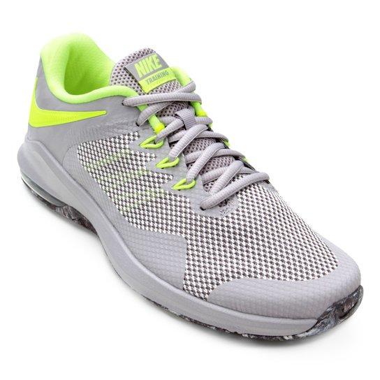 Tênis Nike Air Max Alpha Trainer Masculino - Cinza e Verde - Compre ... 6799a73a7151e