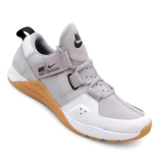 Tênis Nike Tech Trainer Masculino - Cinza e Preto - Compre Agora ... 50af947105