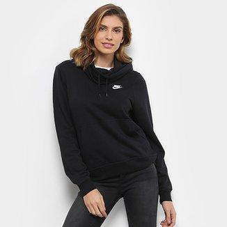 0a6666574a Moletom Nike Sportswear Funnel-Neck Feminino