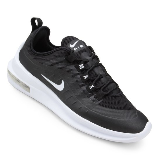 sports shoes b485e e11c1 Tênis Nike Air Max Axis - Branco+Preto