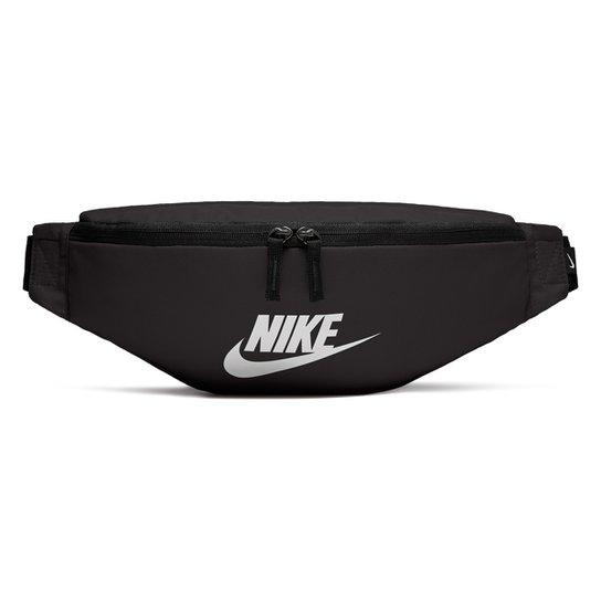 20d574d17 Pochete Nike Heritage Hip Pack - Branco e Preto | Netshoes
