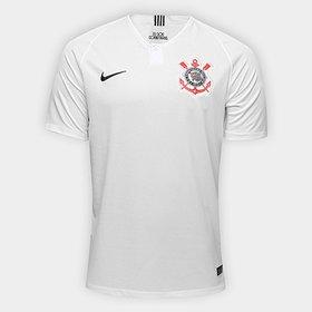 56b28b08c8d LANÇAMENTO. (5). Camisa Corinthians I 18 19 s n° Torcedor Nike Masculina