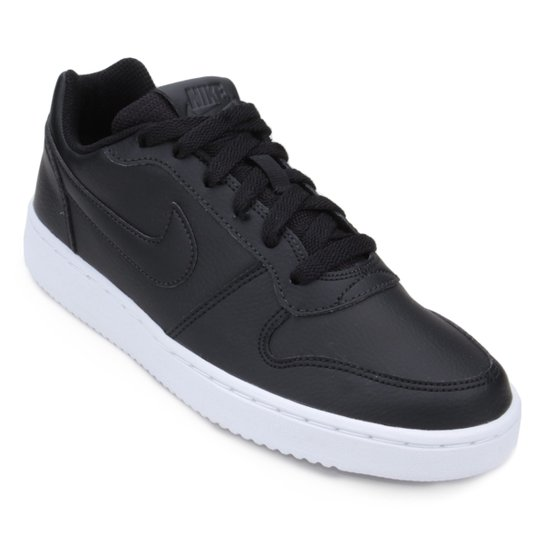 4549beac161 Tênis Nike Ebernon Low Feminino - Preto - Compre Agora