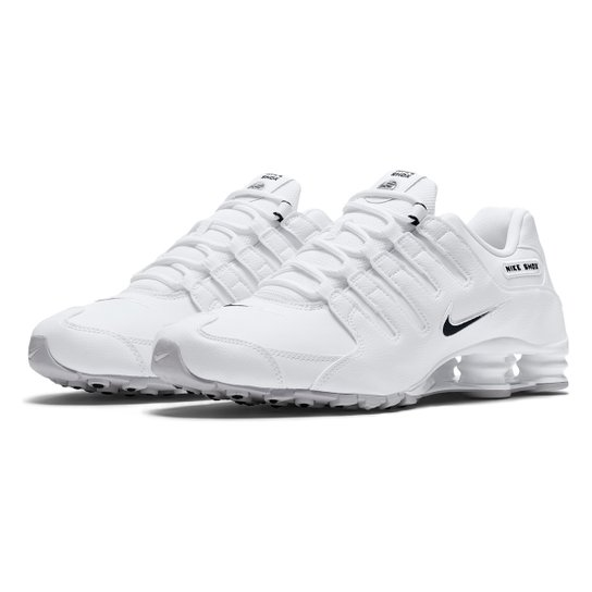 624f04e878d Tênis Nike Shox Nz Eu Masculino - Branco - Compre Agora