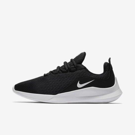 49f24bfabdc Tênis Nike Viale Feminino - Branco e Preto - Compre Agora