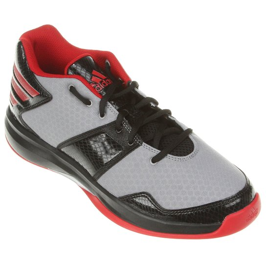 6bb61581bd Tênis Adidas Crazy Isolation - Cinza+Preto