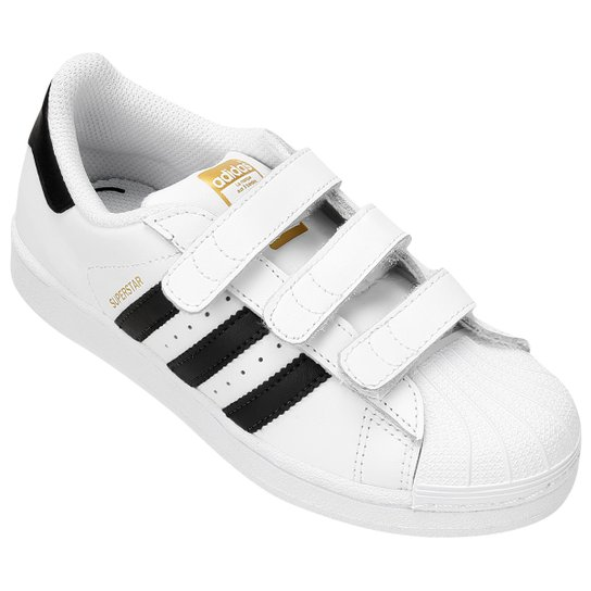 Tênis Adidas Star Foundation CF Infantil - Compre Agora  8f71589dd61cc