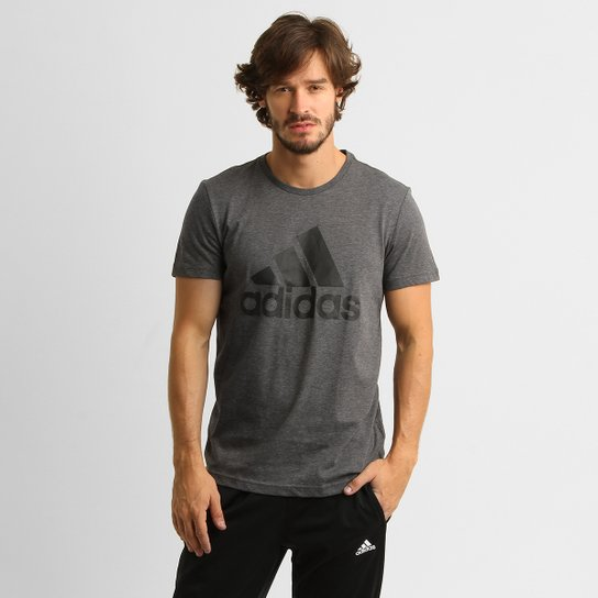 c7bedbe8c1 ... Camiseta Adidas ESS Logo Masculina - Compre Agora Netshoes  019ef21b7403a1 ...
