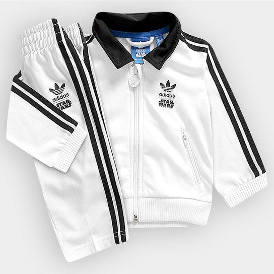 dbba59c726bef Agasalho Adidas 1 Star Wars ST TS Infantil - Compre Agora