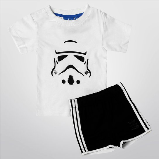 64f48d00cccae Conjunto Adidas 1 Star Wars ST SET Infantil - Compre Agora