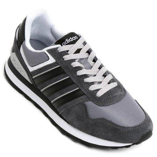25c68a52447b1 Tênis Adidas 10K Masculino - Cinza+Preto