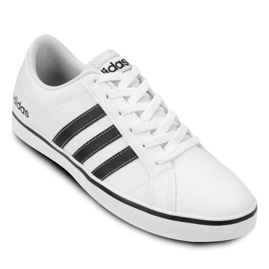 ade21b666 Tênis Adidas Pace Vs Masculino - Branco e Preto - Compre Agora ...