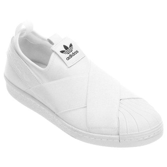b99128b86 Tênis Adidas Superstar Slipon W - Branco | Netshoes