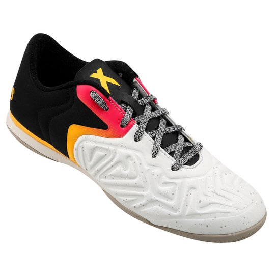 f317907bf6f5f Chuteira Adidas X 15 2 CT Futsal - Branco+Preto ...