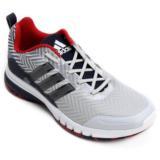 8a62e55ff12 Tênis Adidas Skyrocket Masculino - Cinza e Preto - Compre Agora ...