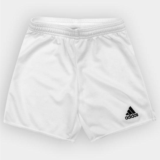 Calção Infantil Adidas Parma 16 - Branco e Preto - Compre Agora ... 5fa8ca0cca107